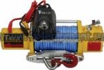 Лебедка PEW-9500 Performance 12В С радиоуправлением и синтетическим тросом